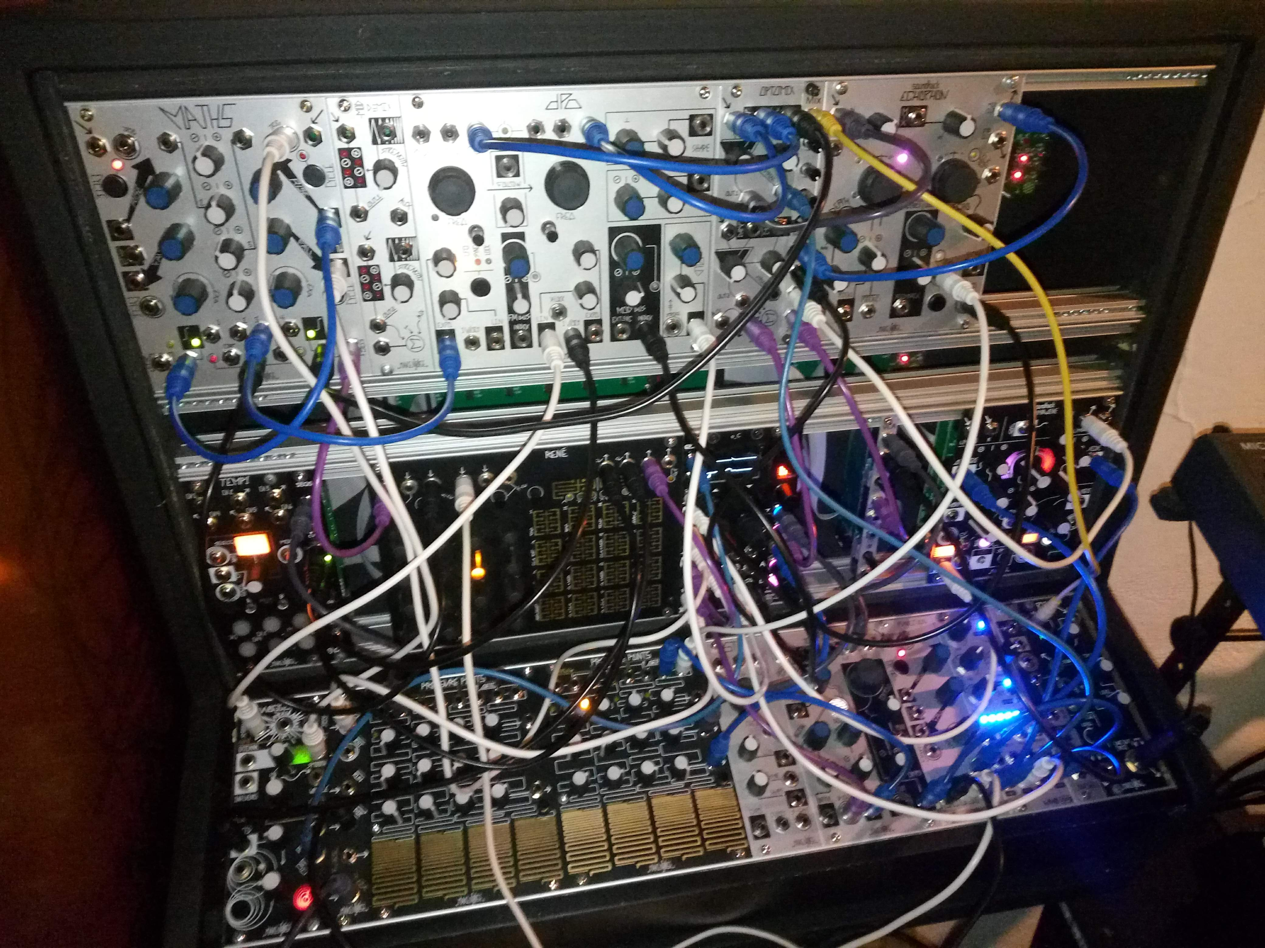 mkae Noise, ExpertSleepers, WMD Devices, 2hp, Erica Synths