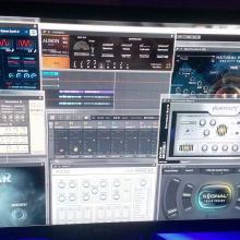 maschine, komplete kontrol ks25, m-audio keystation, edna, albion one, heavyocity, signal, fm8, dronar, evo grid3, albion one