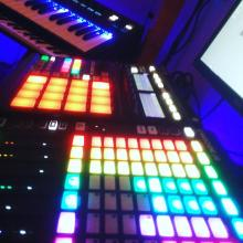 maschine, komplete kontrol ks25, m-audio keystation, maschine jam